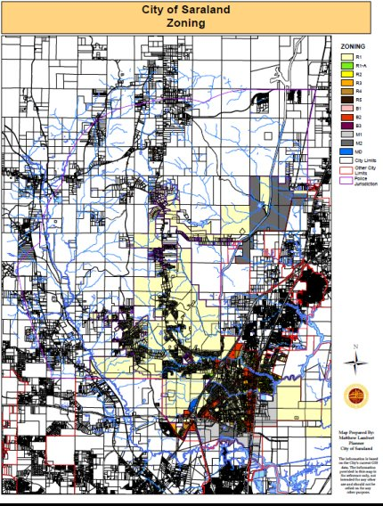 Planning / Zoning Department - City of Saraland, Alabama on missouri street map, missouri farmland erosion map, greenview mo map,